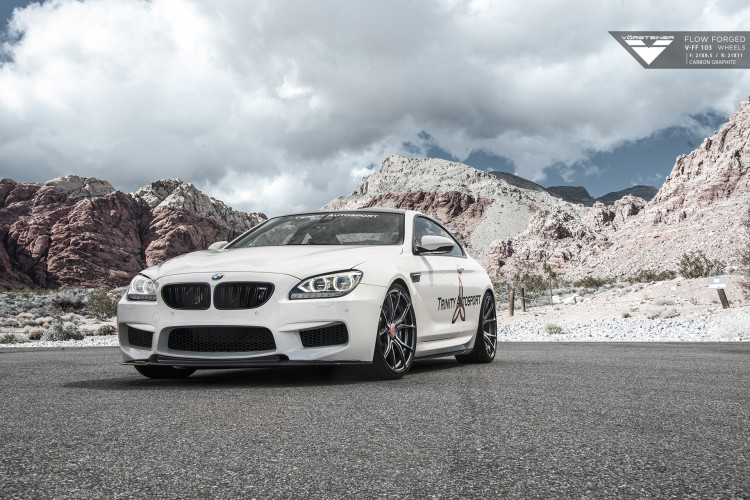 BMW M6 On Vorsteiner V FF 103 Wheels and Aero Program 1 750x500