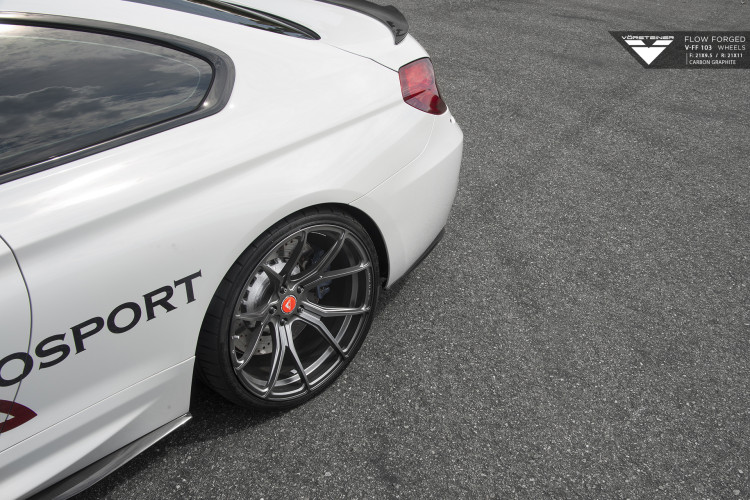 BMW M6 On Vorsteiner V FF 103 Wheels and Aero Program 4 750x500