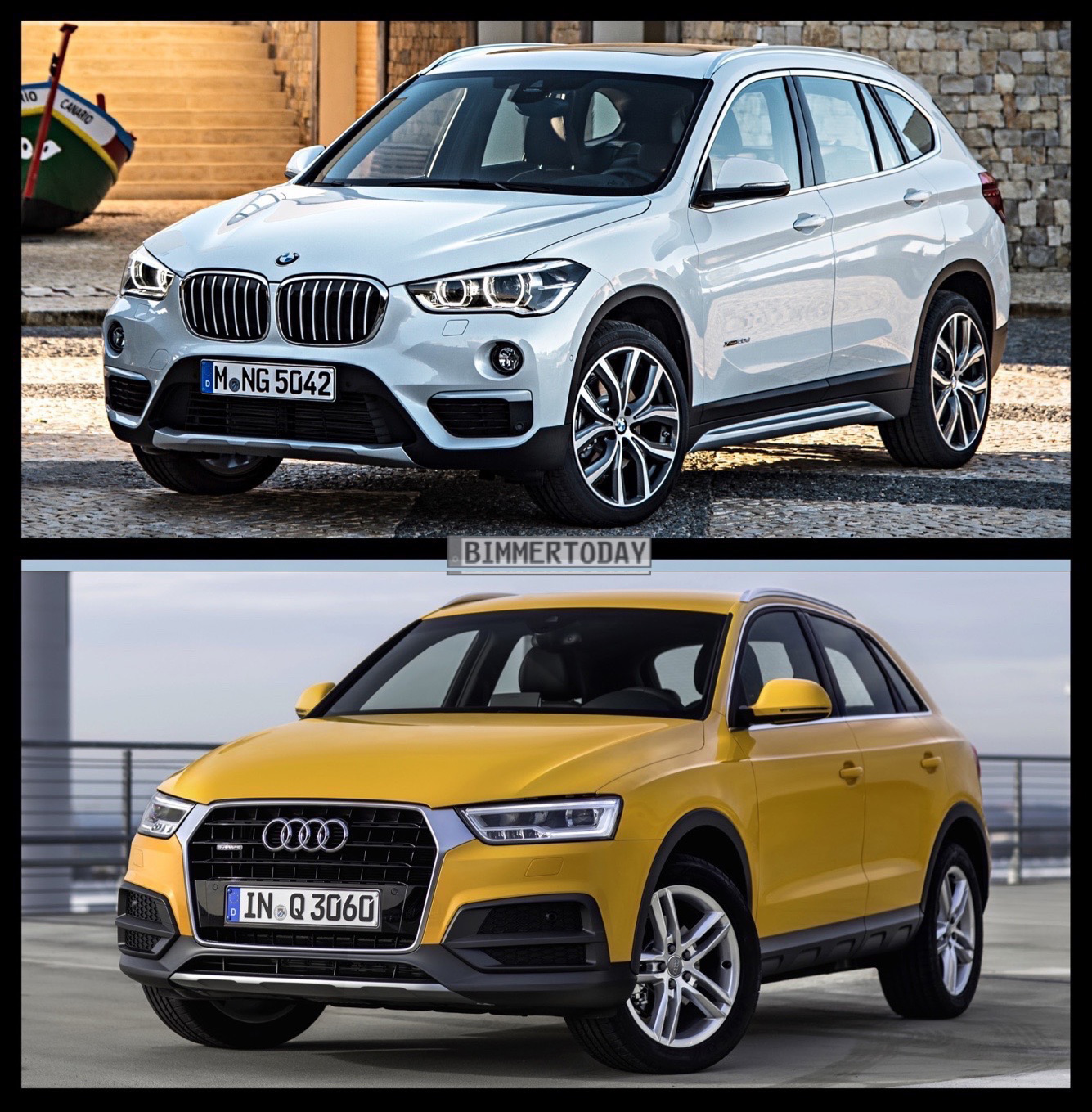 Bmw X7 2015: New BMW X1 Vs. Audi Q3