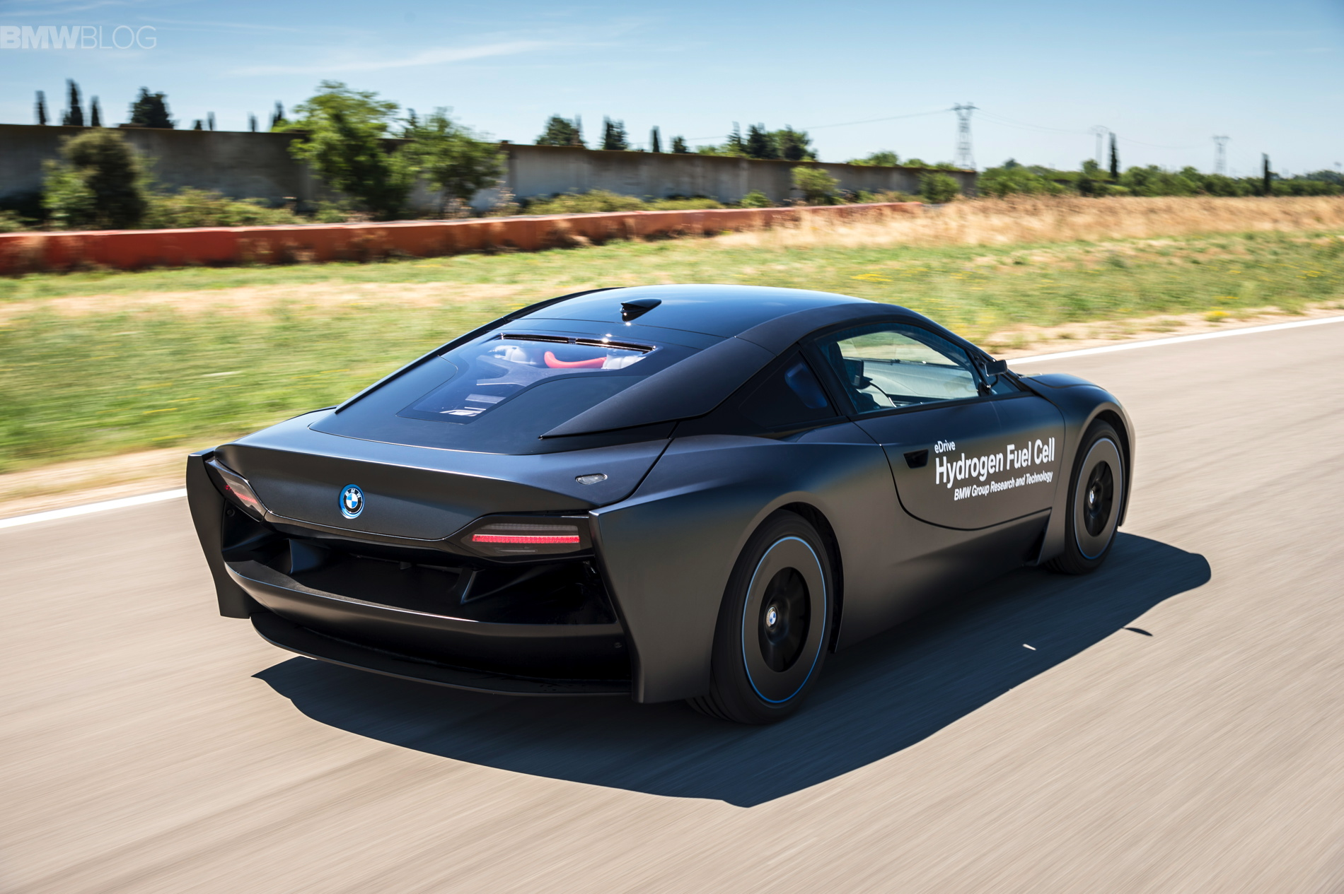 Bmw Once Built A Hydrogen Fuel Cell I8