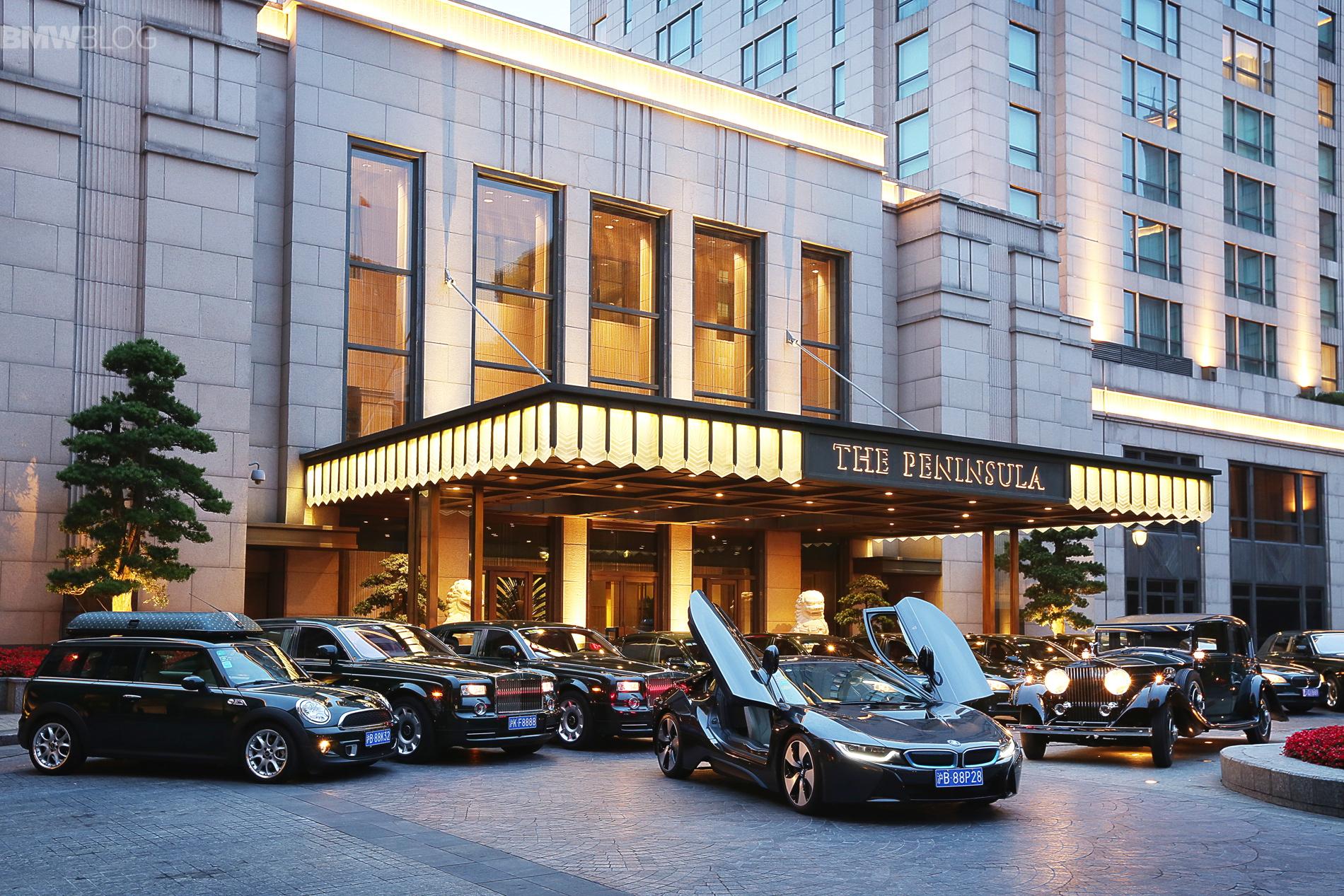 BMW i8 joins fleet of The Peninsula Shanghai images 01