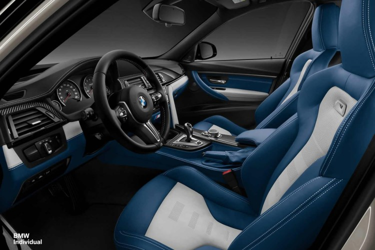 Bmw Unveils F80 M3 From Individual Program