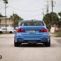 Yas Marina Blue BMW F80 M3