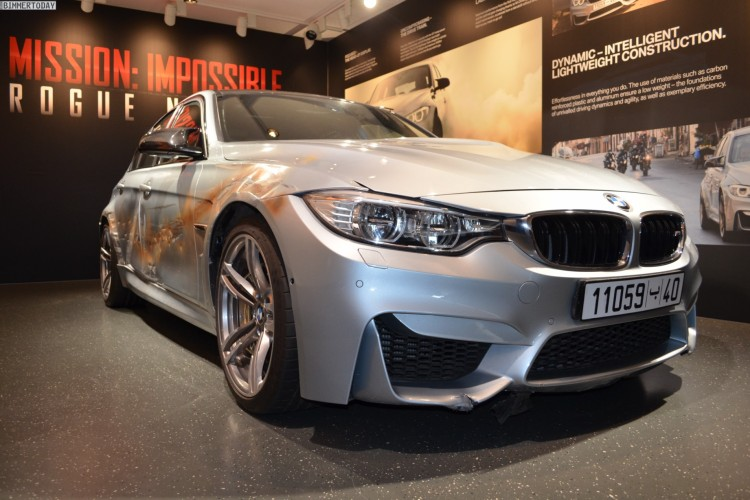 Mission Impossible 5 BMW M3 F80 Crash Film Auto nach Dreharbeiten 04 750x500