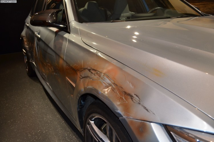 Mission Impossible 5 BMW M3 F80 Crash Film Auto nach Dreharbeiten 06 750x497