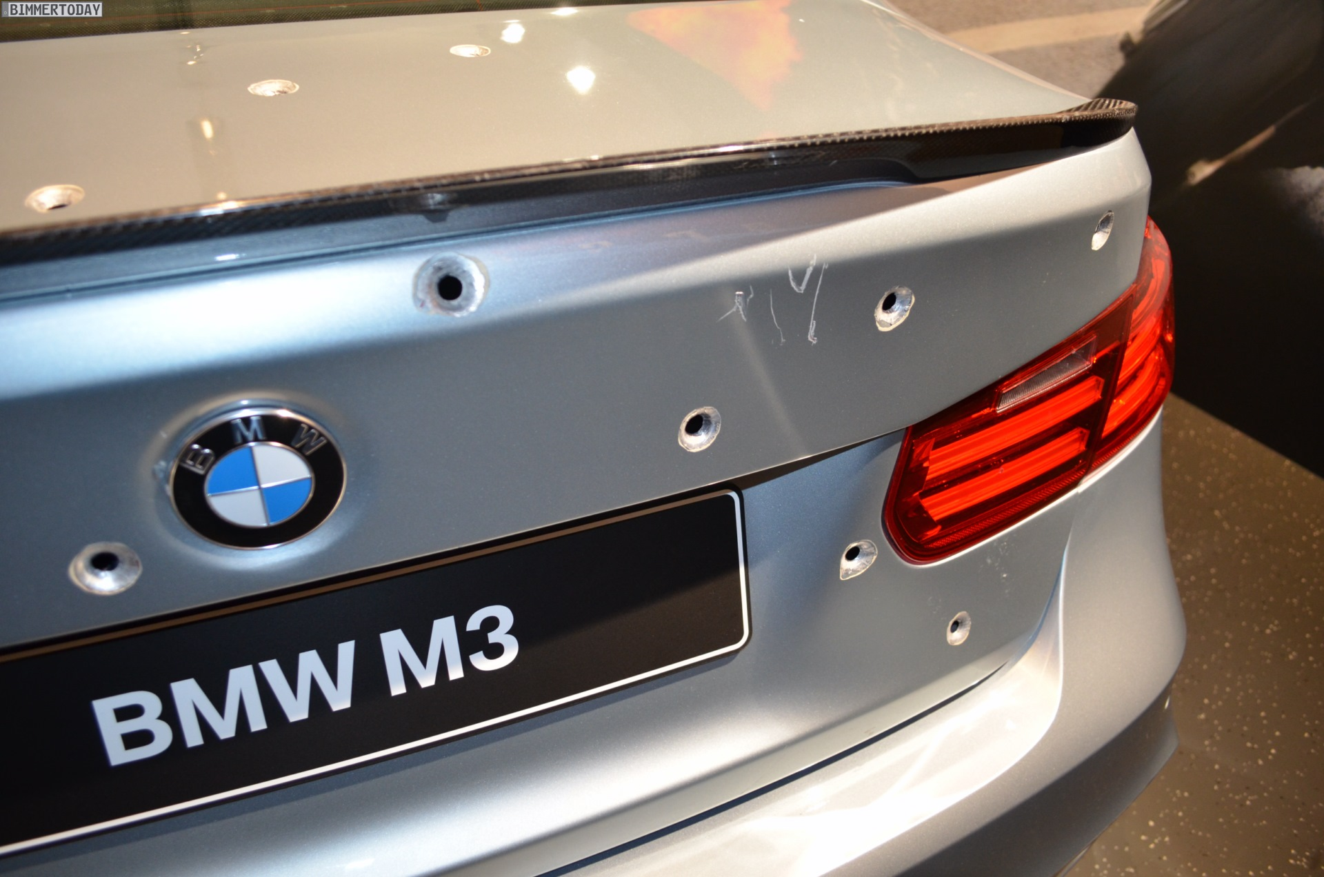 Mission Impossible 5 BMW M3 F80 Crash Film Auto nach Dreharbeiten 12