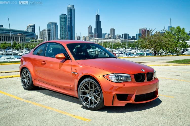 Valencia Orange BMW 1M On VMR Wheels 2 750x500