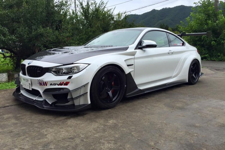 Bmw M4 Widebody By Varis