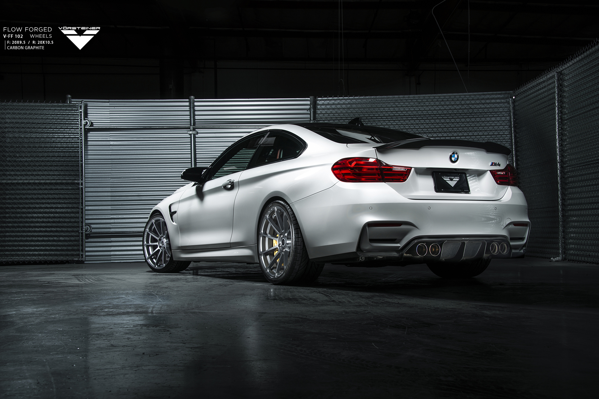Vorsteiner Flow Forged and EVO Aero Program for the F82 M4 Image 3