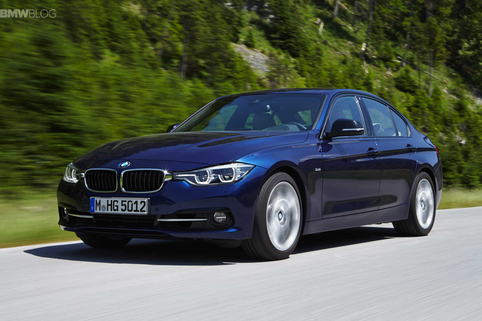 2016 bmw 325d sedan and touring powered by a new engine. Black Bedroom Furniture Sets. Home Design Ideas