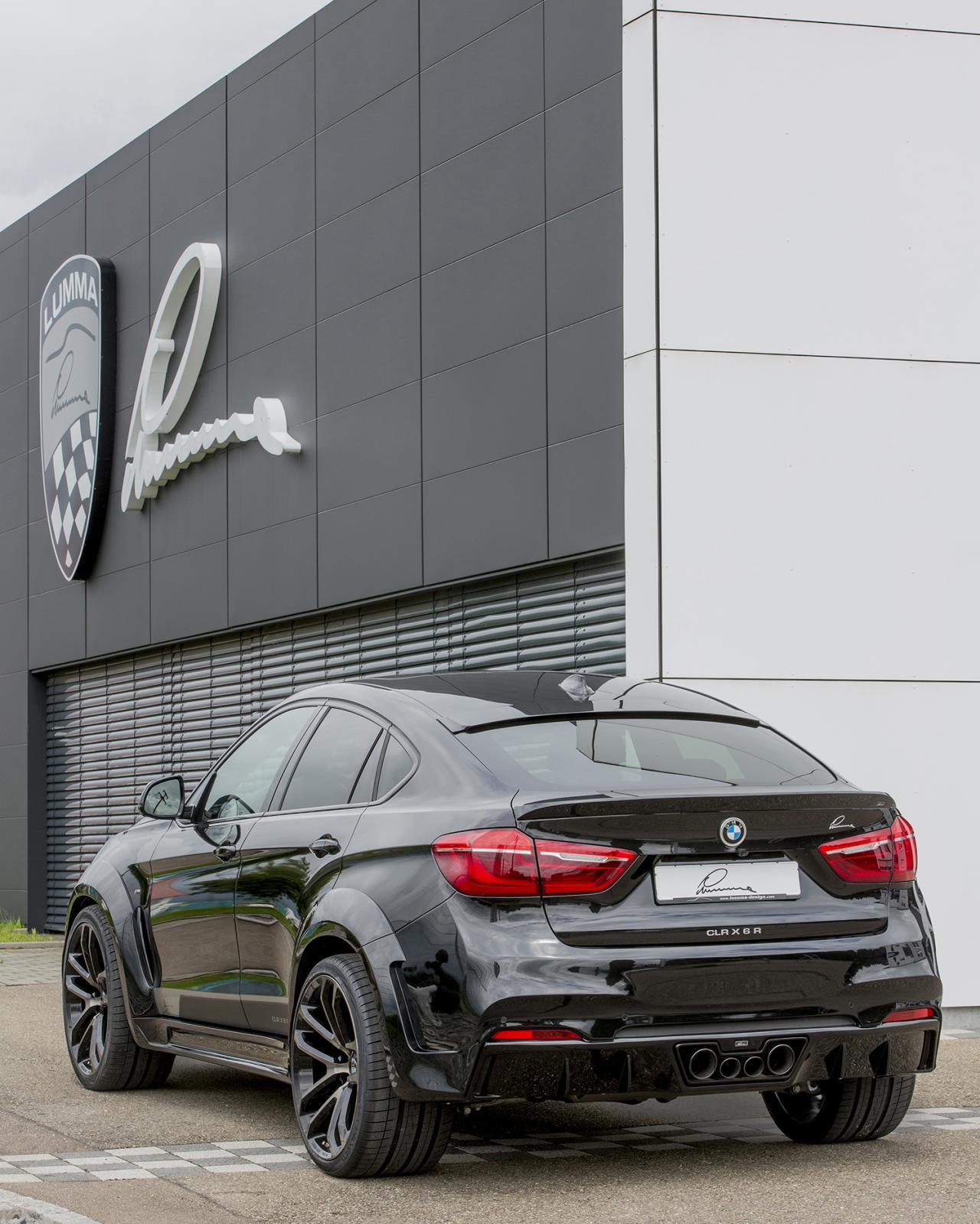 Bmw X6 Tuned: BMW X6 Tuned Up By LUMMA Design