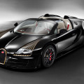 bugatti veyron grand sport vitesse legends black bess front three quarters 120x120