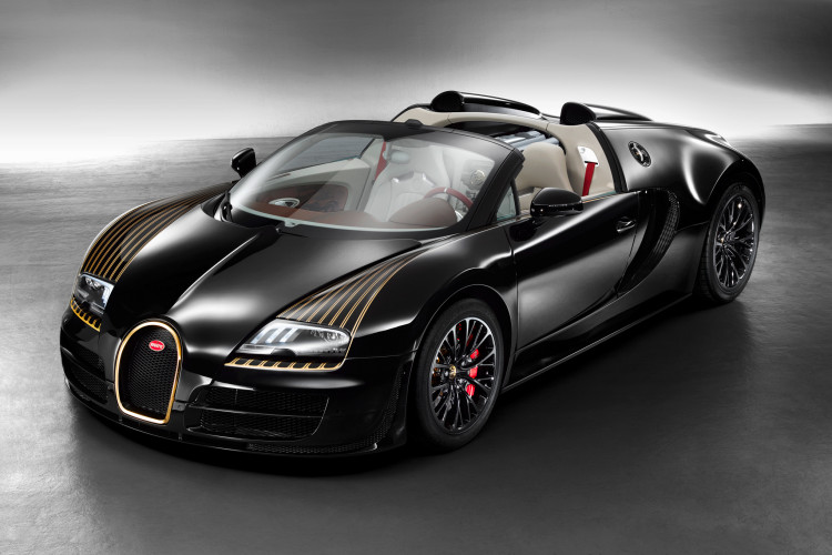 bugatti veyron grand sport vitesse legends black bess front three quarters 750x500