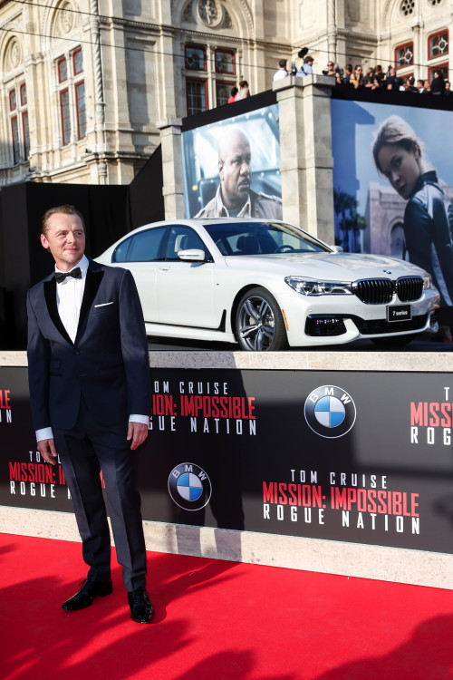 New Bmw 7 Series And Tom Cruise The Red Carpet Stars At