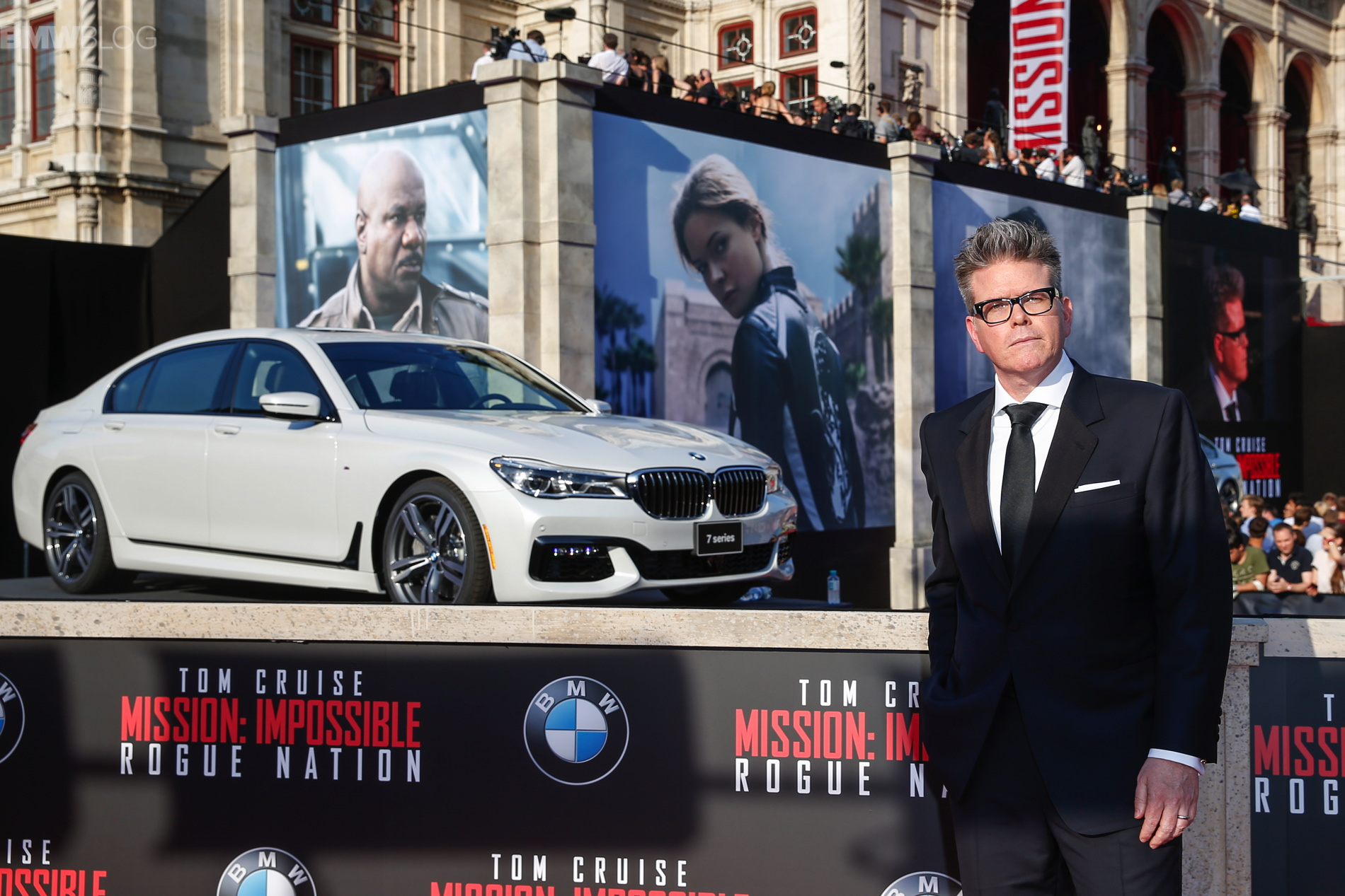 "Bmw European Delivery >> New BMW 7 Series Featured in ""Mission: Impossible - Rogue Nation"