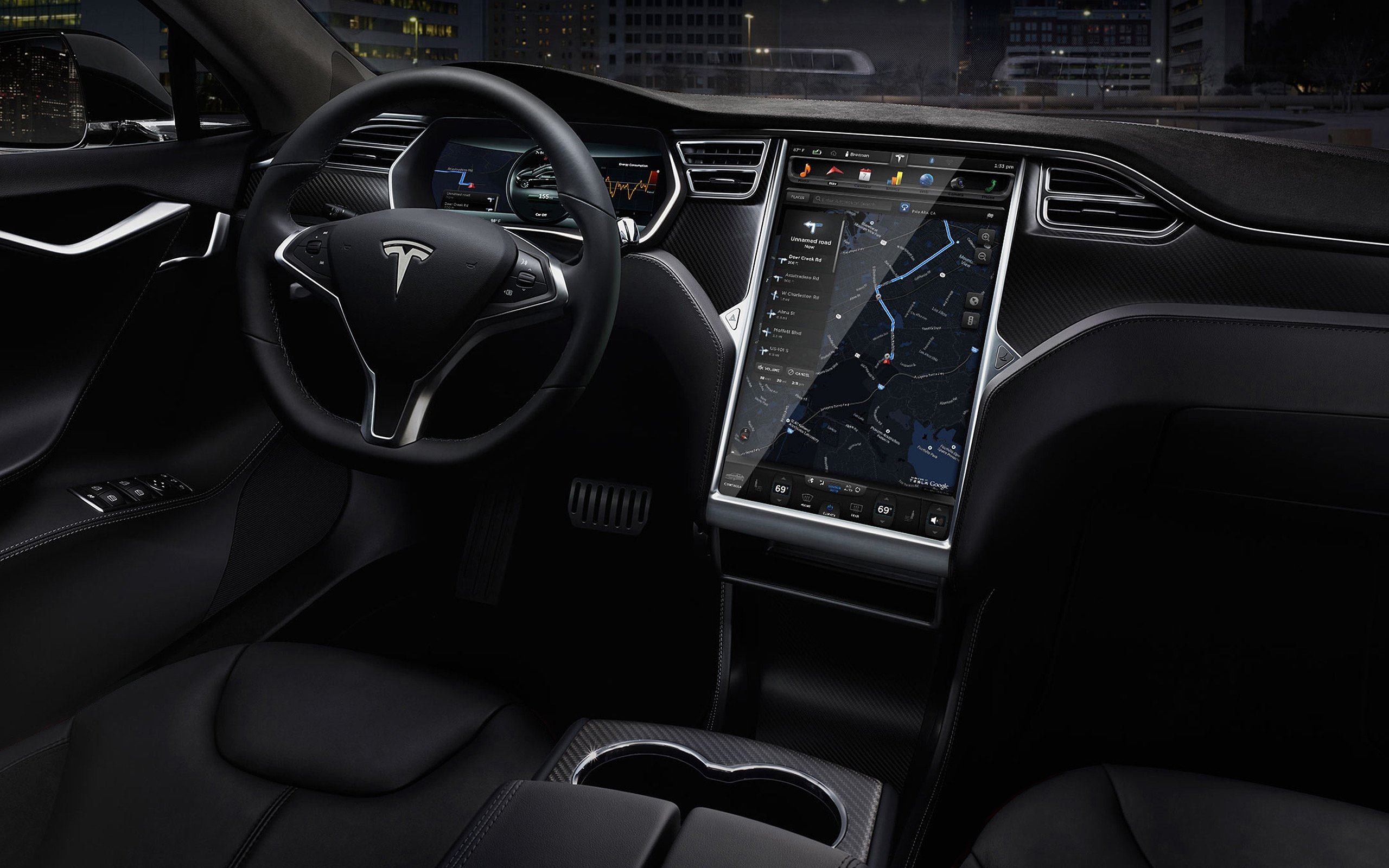 2015 tesla model s p85d test drive. Black Bedroom Furniture Sets. Home Design Ideas