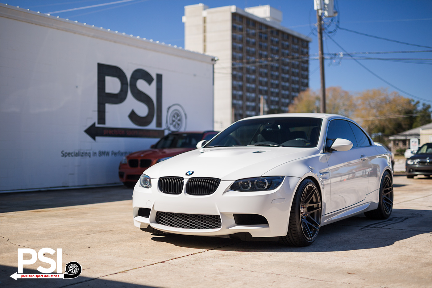 Alpine White BMW E92 M3 With Forgestar Wheels By PSI 1