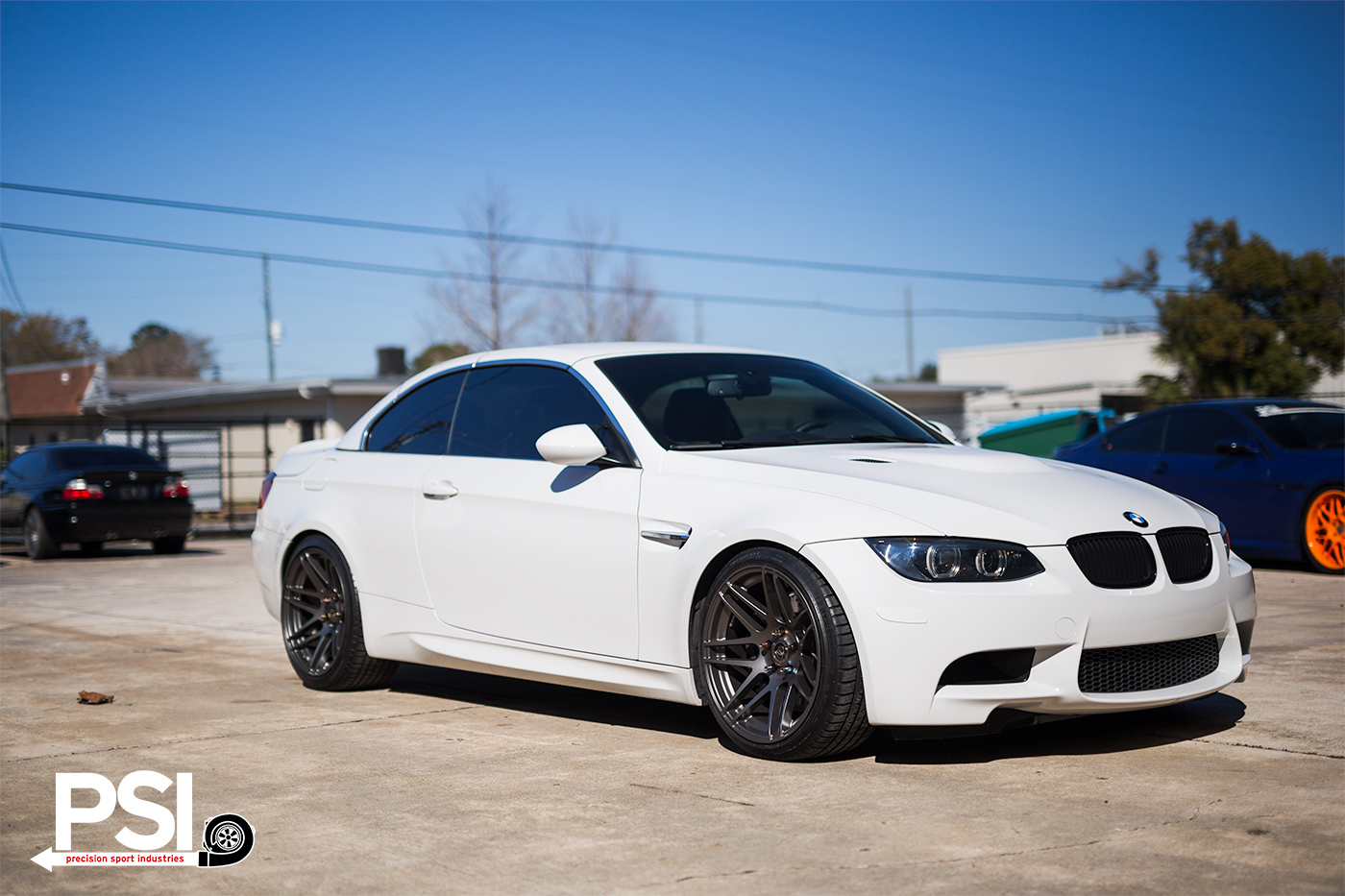 Bmw M3 Convertible >> Alpine White BMW E93 M3 With Forgestar Wheels