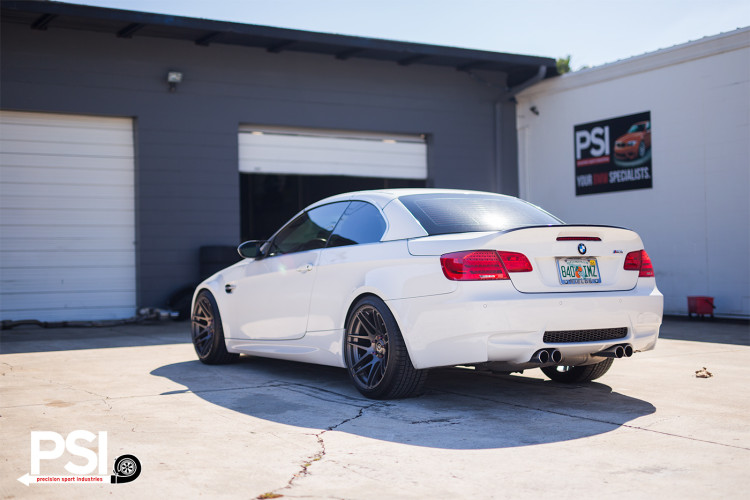 Alpine White BMW E92 M3 With Forgestar Wheels By PSI 4 750x500