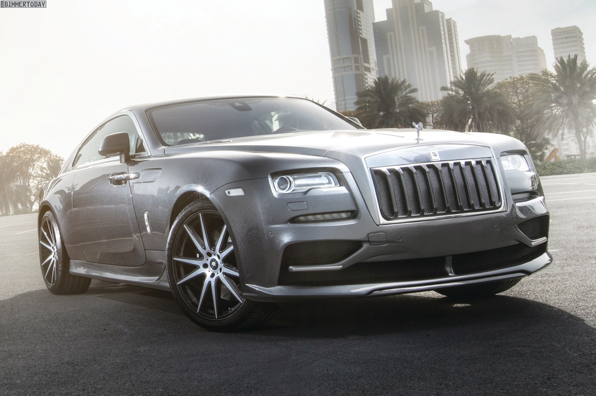 Ares Design Rolls Royce Wraith Luxury Tuning With 700 Hp