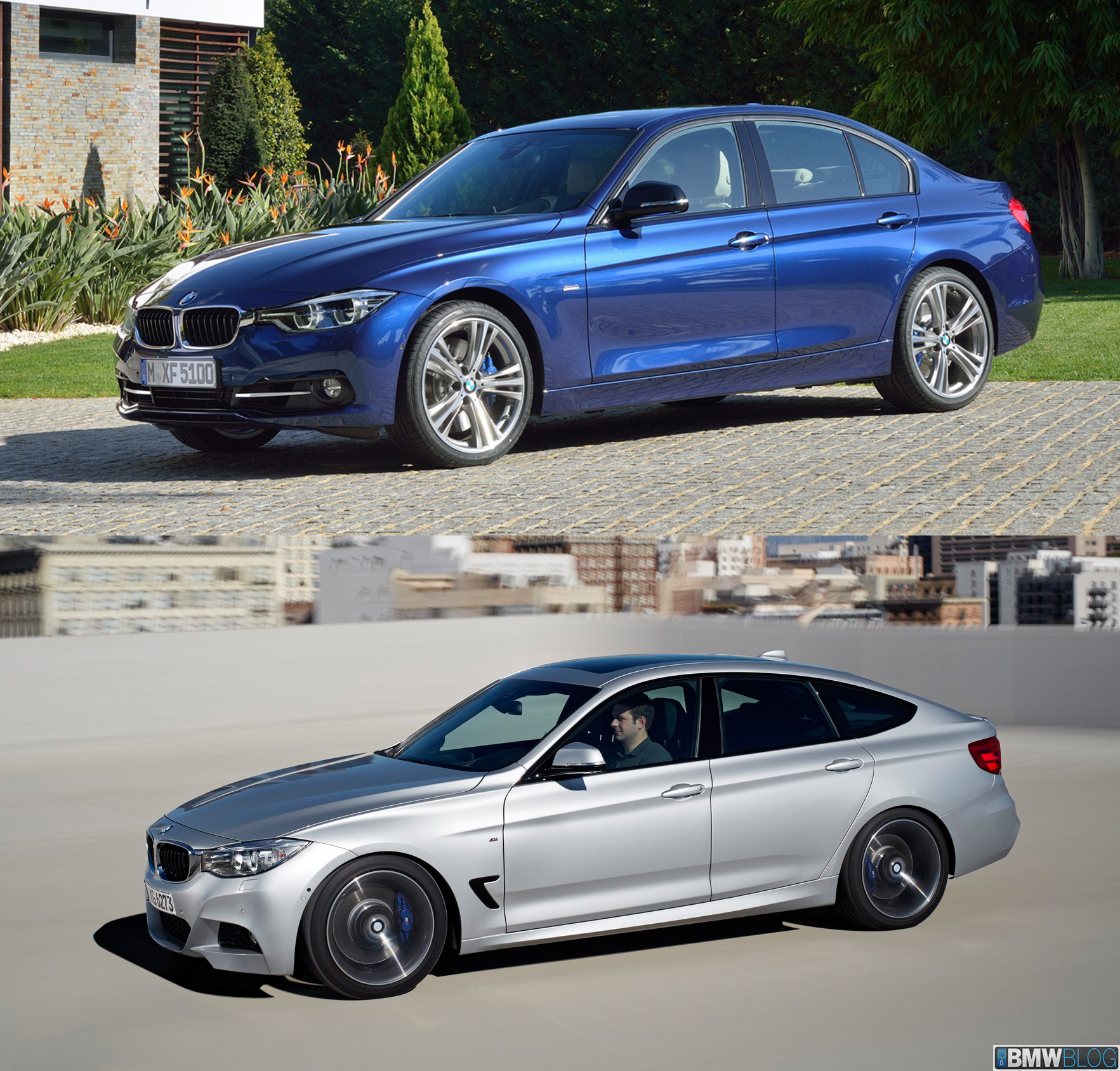 BMW 3 series sedan vs 3 series gran turismo