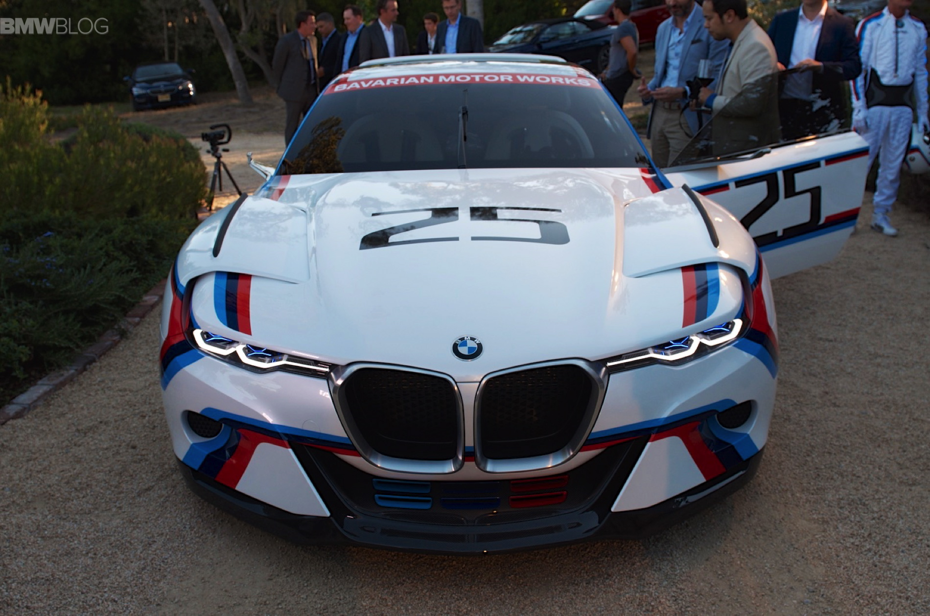 BMW 30 CSL Hommage Racing images 32