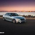 BMW F80 M3 With HRE P101 Wheels