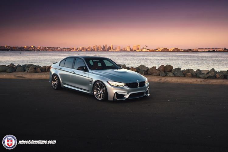 BMW F80 M3 On HRE P101 Wheels 3 750x500
