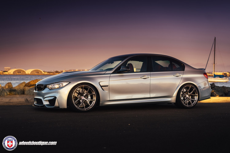 BMW F80 M3 On HRE P101 Wheels 8 750x500