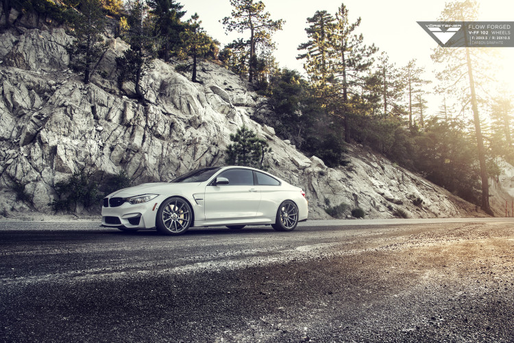 BMW F82 M4 With Vorsteiner Flow Forged V FF 102 Wheels 2 750x500