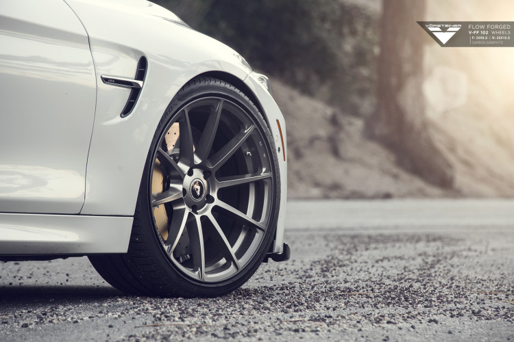 BMW F82 M4 With Vorsteiner Flow Forged V-FF 102 Wheels