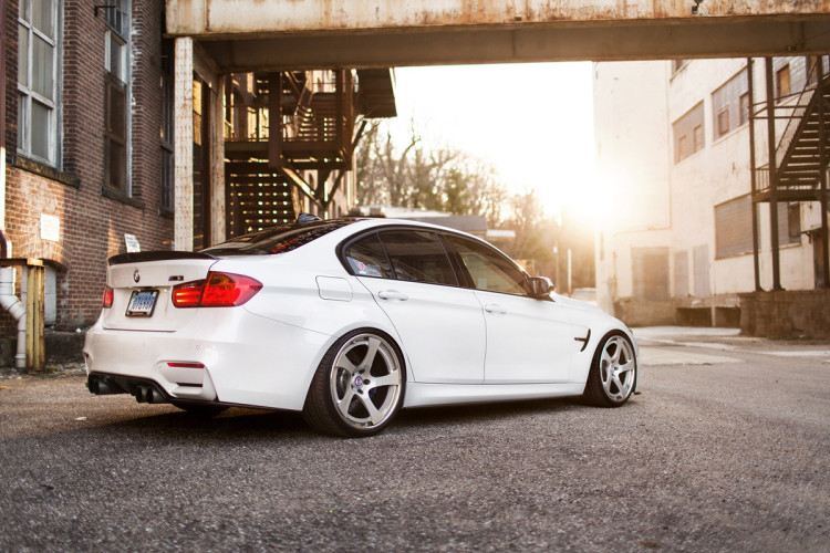 BMW M3 with HRE RS102 Wheels 7