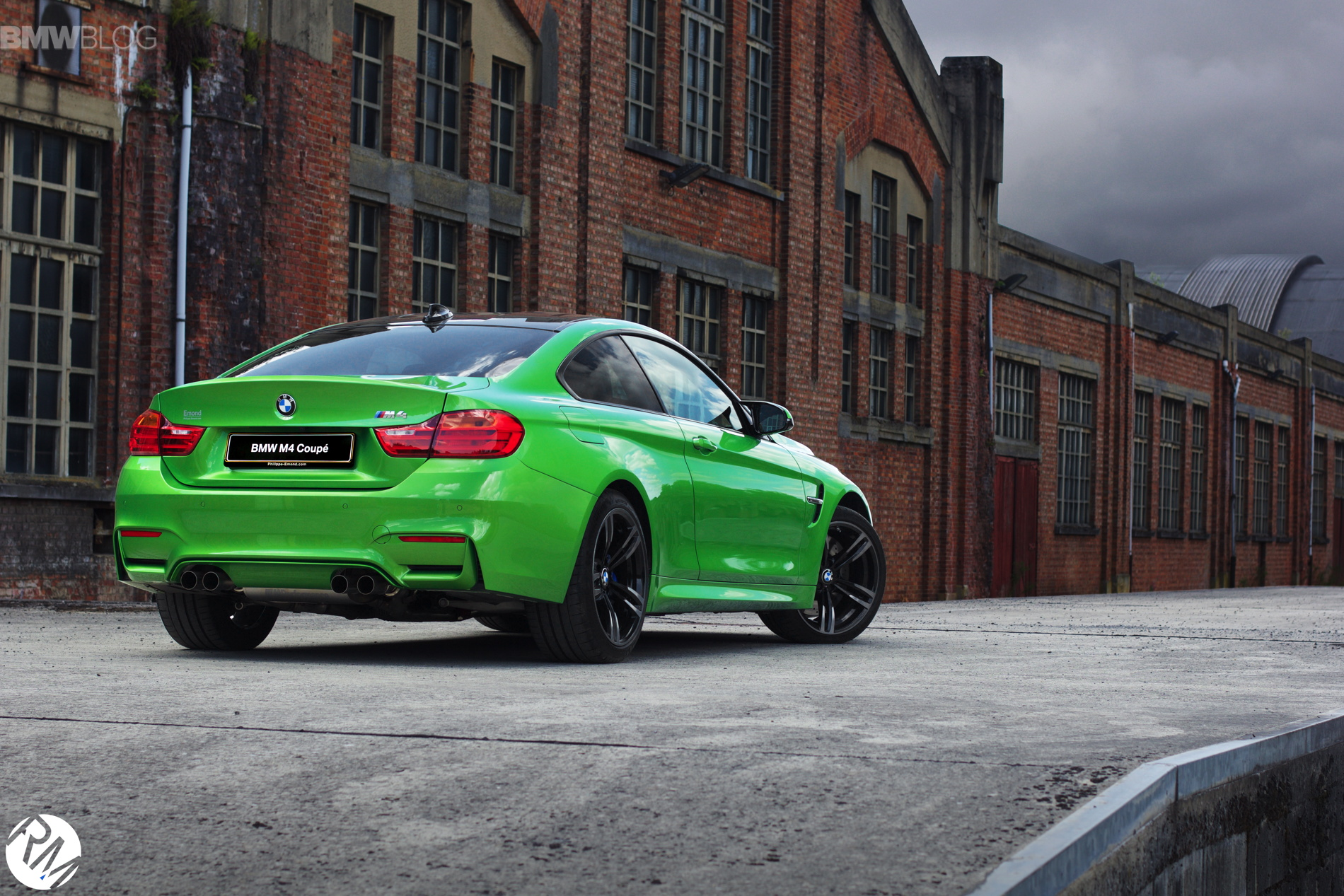 Bmw M4 Coupe In Java Green