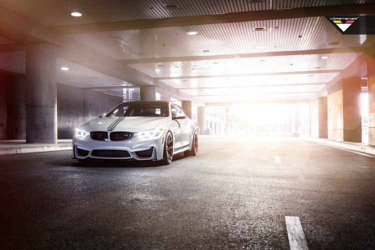 BMW M4 With Vorsteiner Aero And Wheels 7 750x500