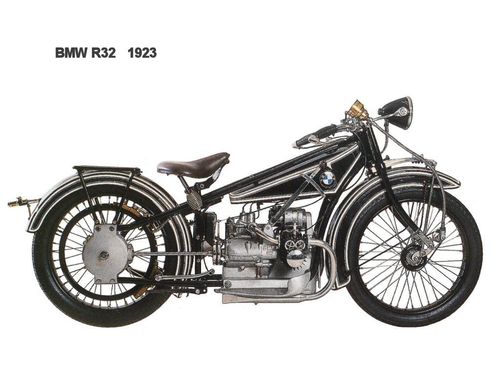 bmw motorcycle history pictures  BMW History: The First BMW Motorcycle