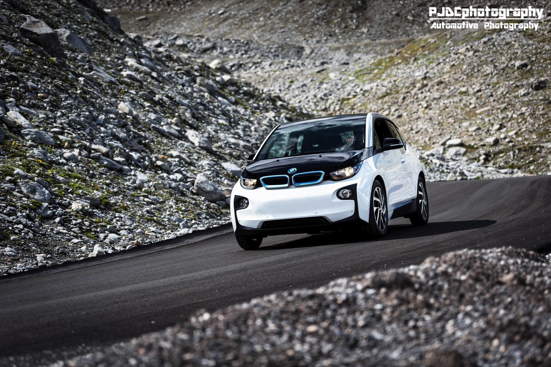 BMW i3 photoshoot alps images 1900x1200 10