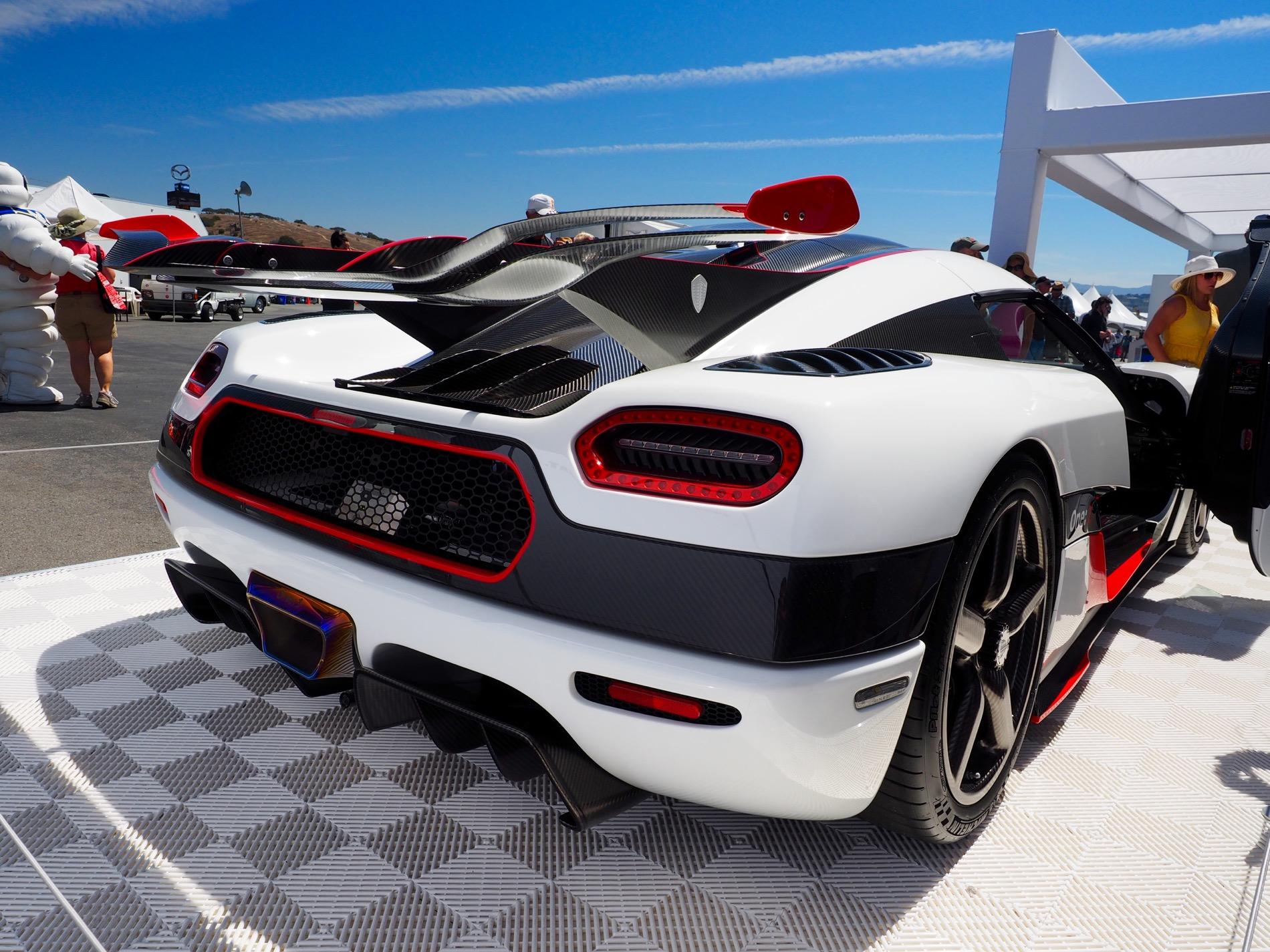 Monticello Motor Club >> 2015 Pebble Beach: Koenigsegg One:1 courtesy of Michelin