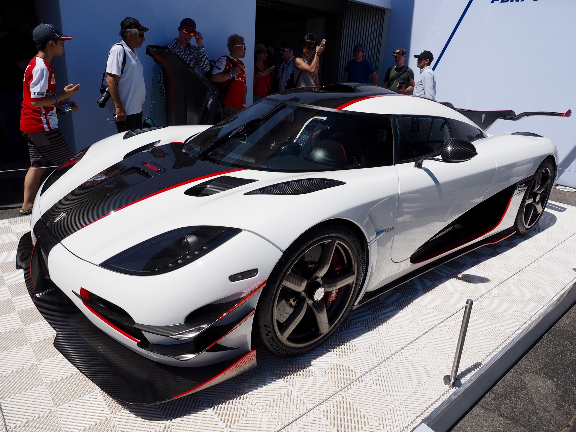 2015 Pebble Beach Koenigsegg One1 Courtesy Of Michelin
