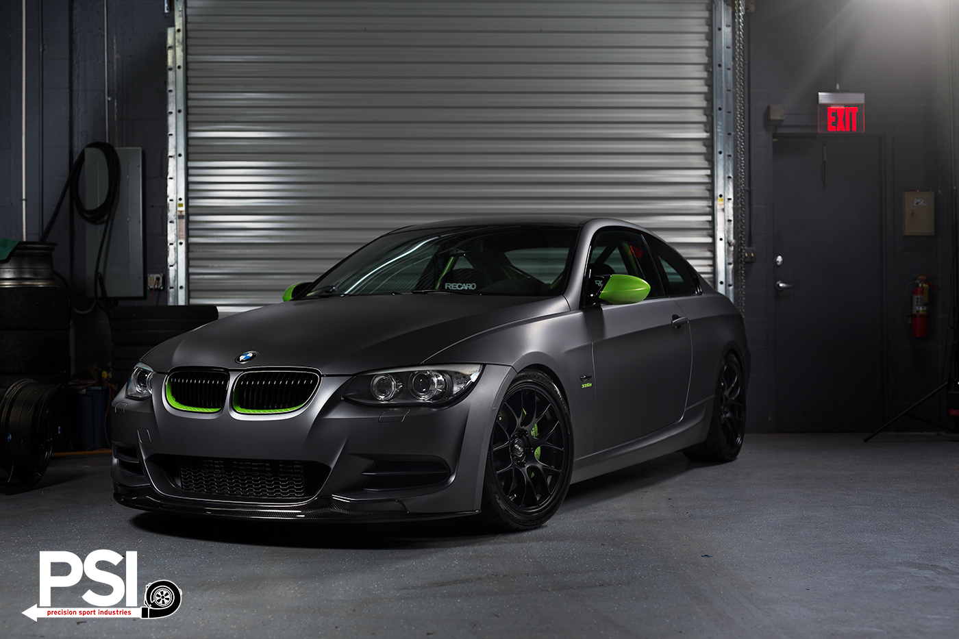 the ghost chameleon bmw 335i build by precision sport industries. Black Bedroom Furniture Sets. Home Design Ideas
