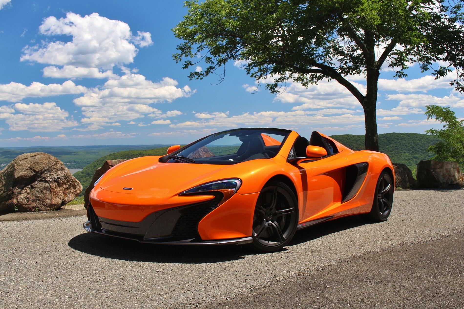 2015 mclaren 650s spider - test drive