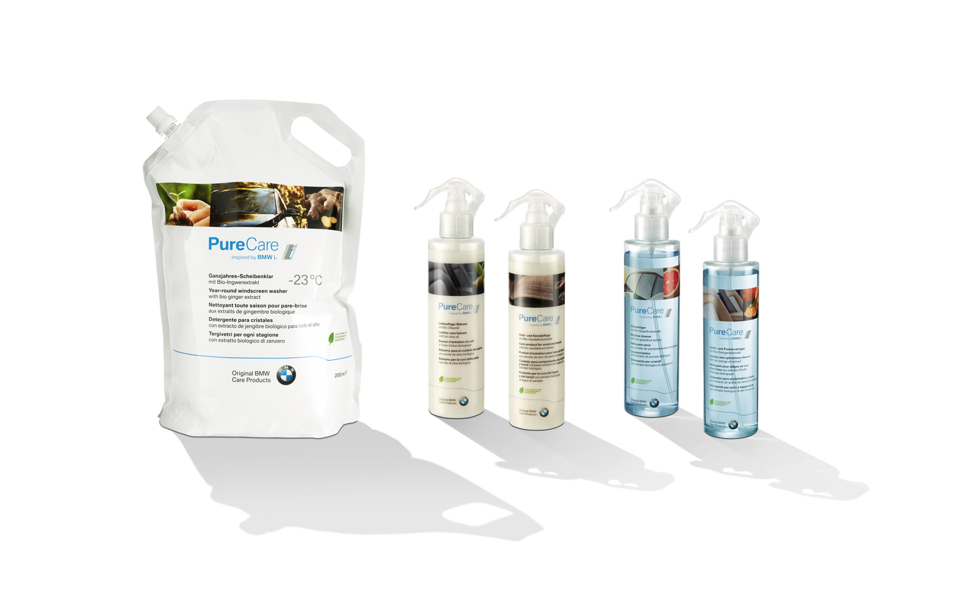 PureCare inspired by BMW i for eco friendly vehicle care 13