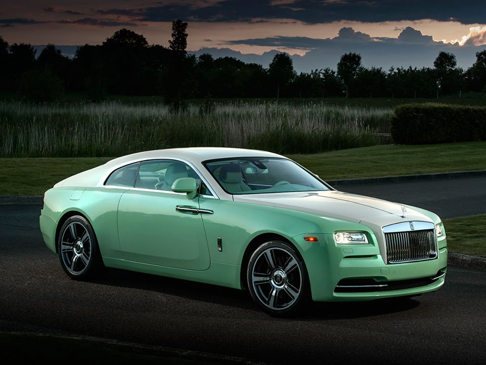 Rolls Royce Aequus Green