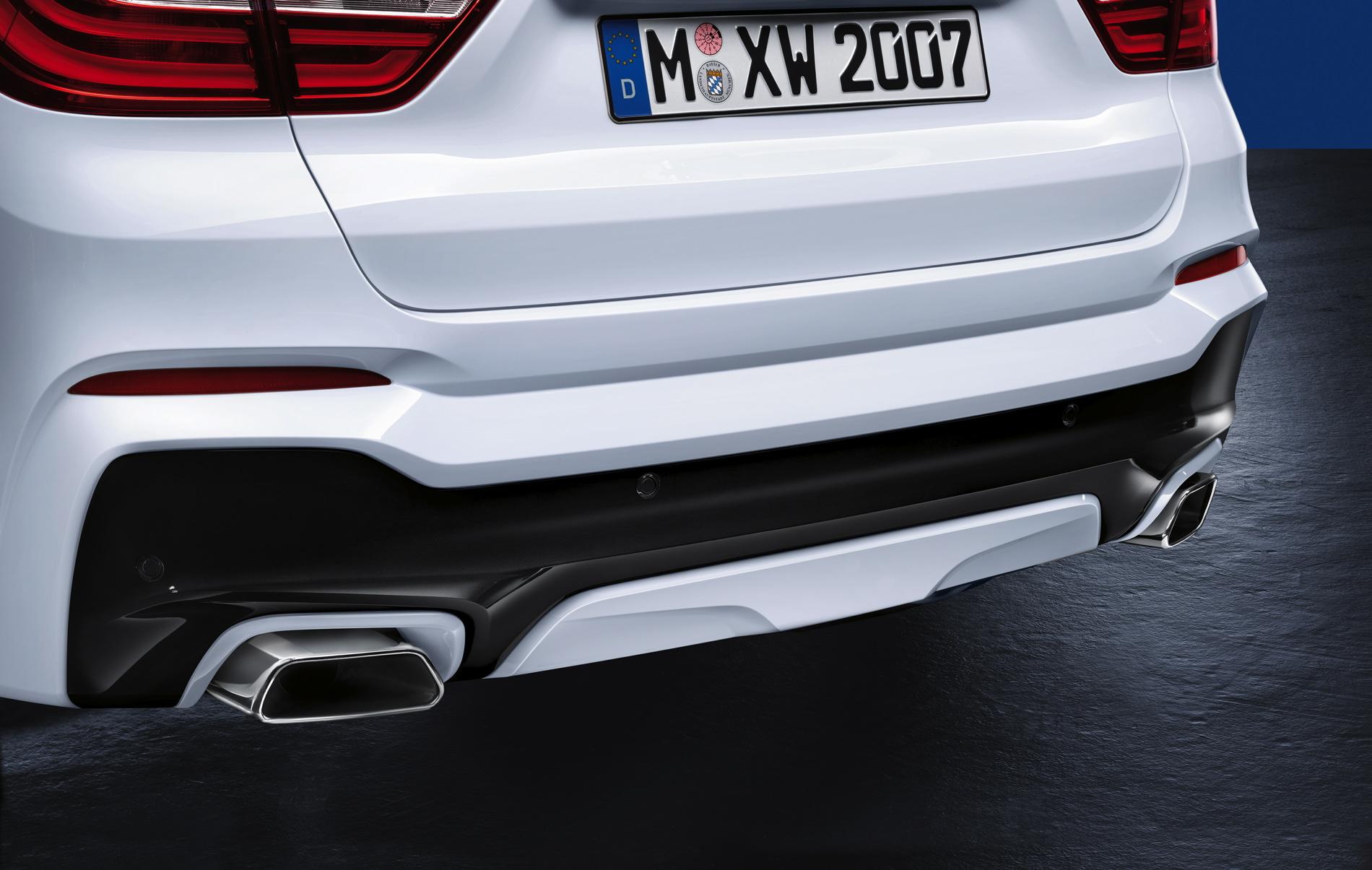 Bmw X3 M Sport >> BMW M Performance valve exhaust silencer system for the BMW X4