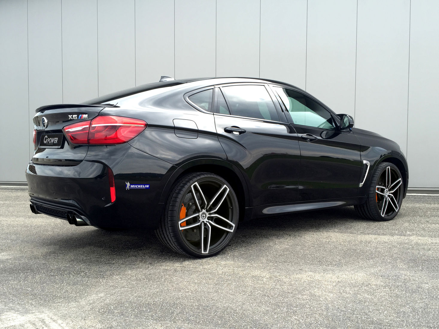 G Power Bmw X6 M With 650 Horsepower And 300 Km H Top Speed