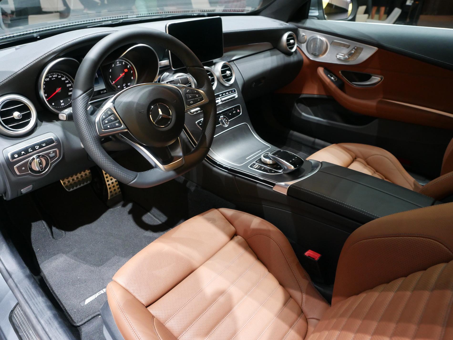 2016 Mercedes Benz C Class Coupe 2015 Frankfurt Auto Show