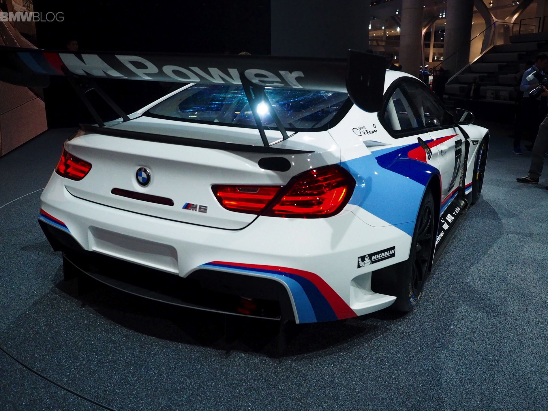 bmw m6 gt3 photos and videos from frankfurt motor show. Black Bedroom Furniture Sets. Home Design Ideas