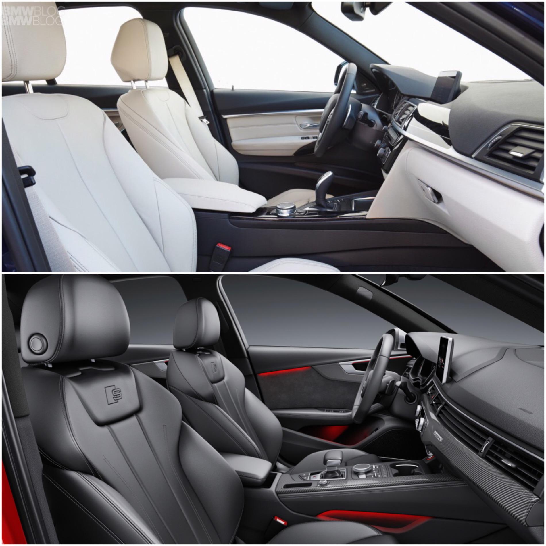 2015 BMW 340i Vs. 2016 Audi S4