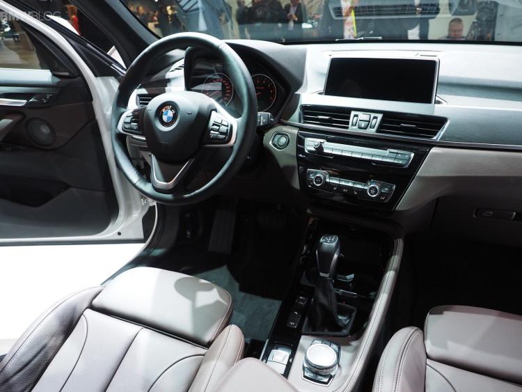 2016 bmw x1 frankfurt auto show images 09 750x563