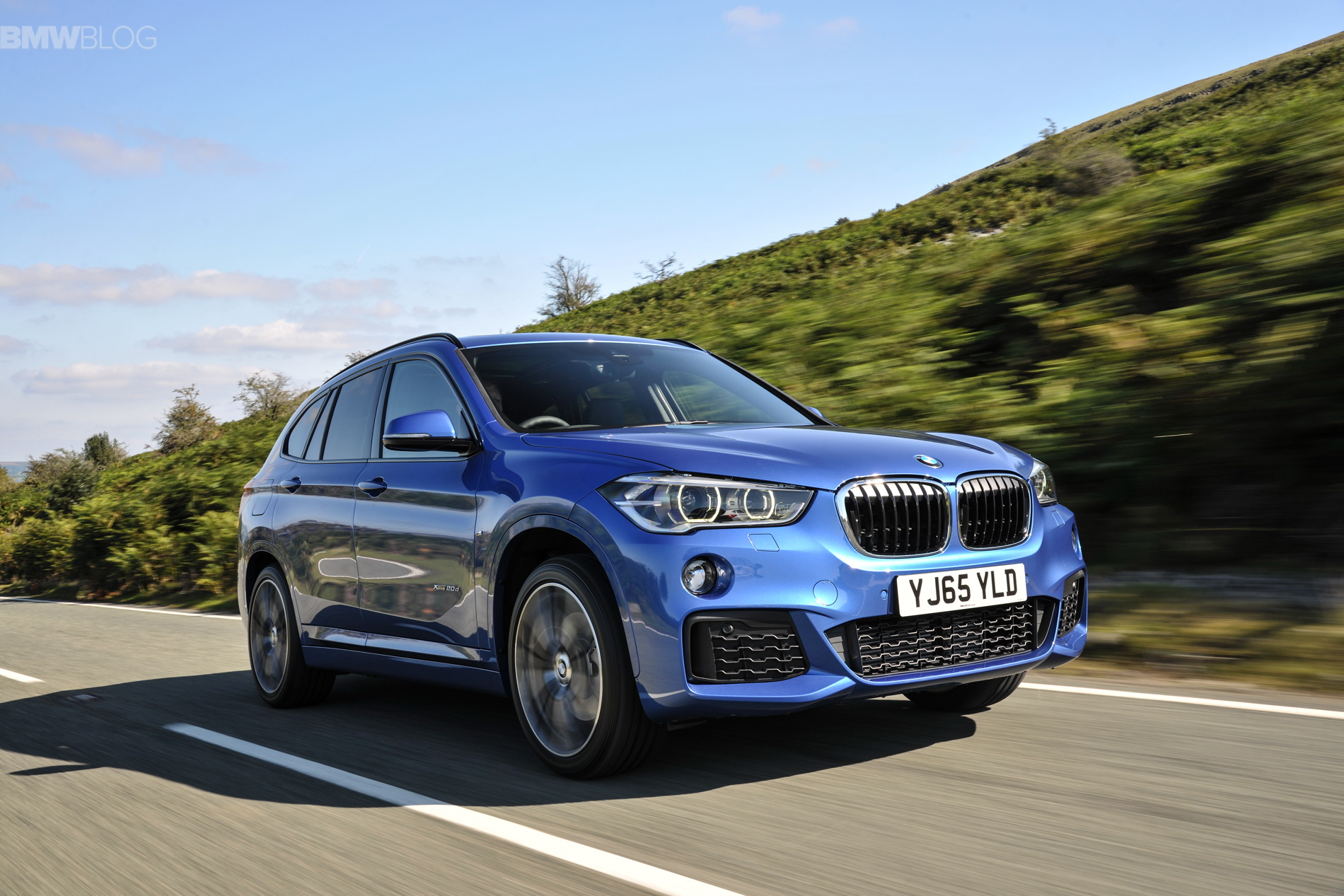 2016 bmw x1 m sport package in estoril blue photos. Black Bedroom Furniture Sets. Home Design Ideas