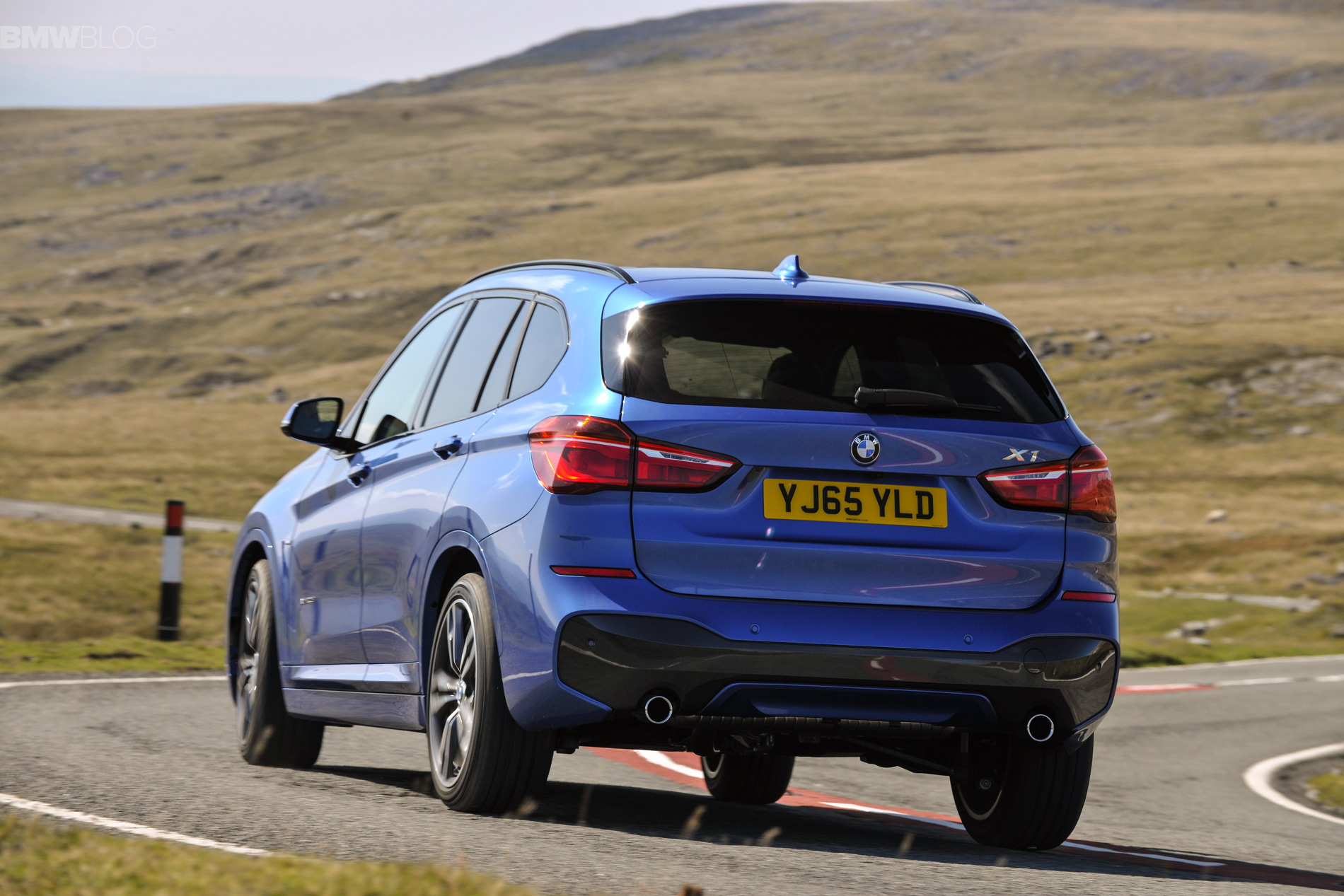 2016 bmw x1 m sport package in estoril blue - photos